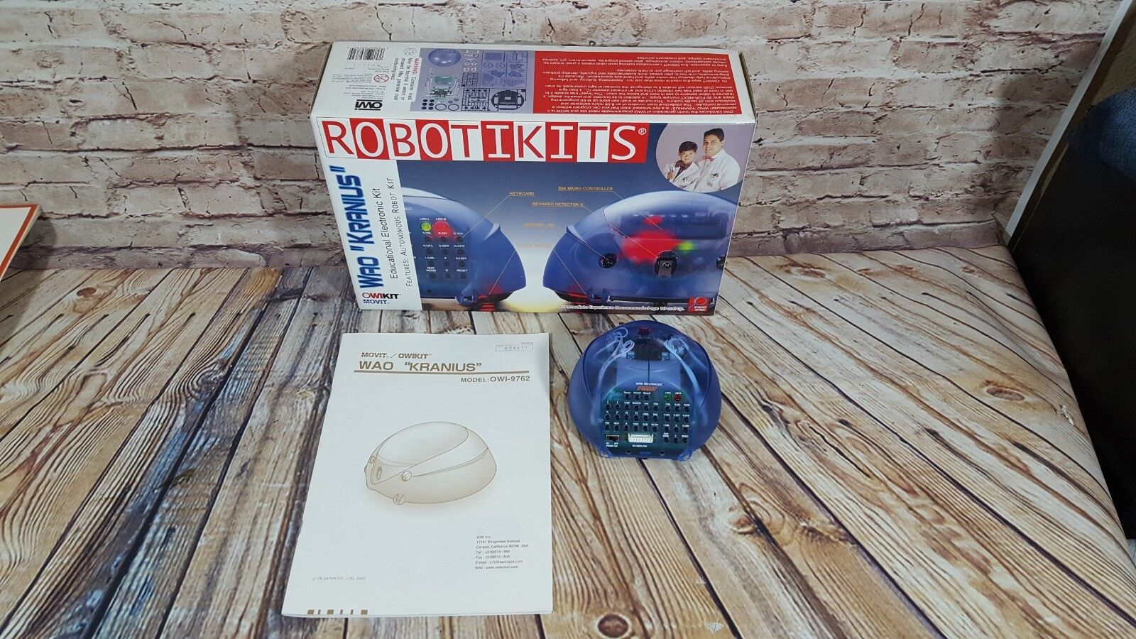 Robotikits WAO Kranius OWI Movit Kit Robot OWI-9762 - Already Built - As IS