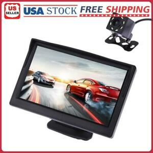 4.3 inch 480 x 272 Pixel TFT LCD Color Car Rear View Monitor With Camera