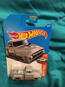 Hot Wheels 2017 Hw Hot Trucks Custom 56 Ford Truck 2 10 Ebay