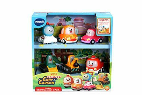 VTech Toot-Toot Drivers Cory Carson Mini Vehicle Pack Toy Kids Car Set for