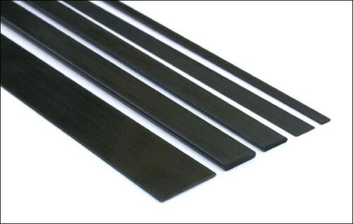 5x Court Longueur 10 mm x 1 mm x 200 mm Omniglass fibre de carbone Bandes S101-200