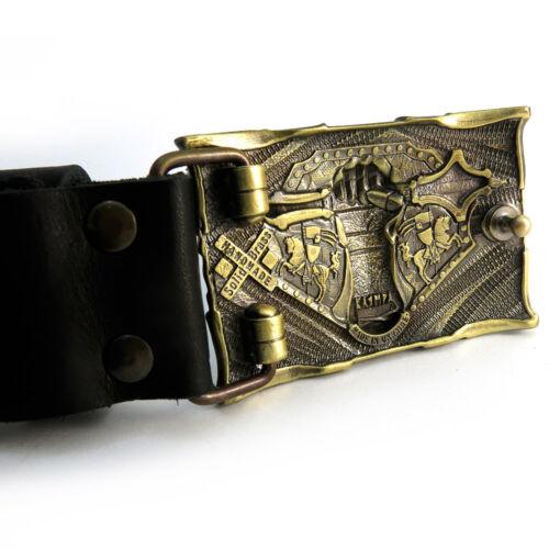 "Tank Belt Buckle /""Steel fist/""; Military Belt Buckle; Medieval Armor Buckle"