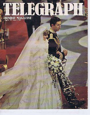 PRINCESS DI PRINCE CHARLES ROYAL WEDDINGSunday Telegraph MagazineAug21981