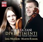 Andrea Zani: Divertimenti for Violin and Cello (CD, Oct-2015, 2 Discs, Capriccio Records)