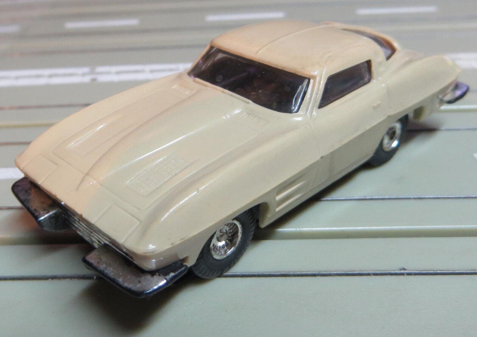 Pour H0 Circuit Routier Électrique Course Modellbahn 1963er Corvette C2 avec