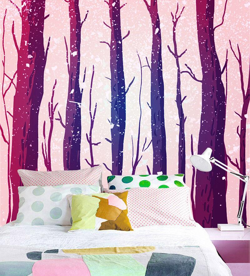 3D Abstract Tree Trunk 8 Wallpaper Mural Paper Wall Print Wallpaper Murals Lomen