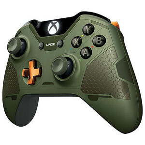 Microsoft Limited Edition Halo 5 Guardians The Master Chief Gk4 00011 Gamepad