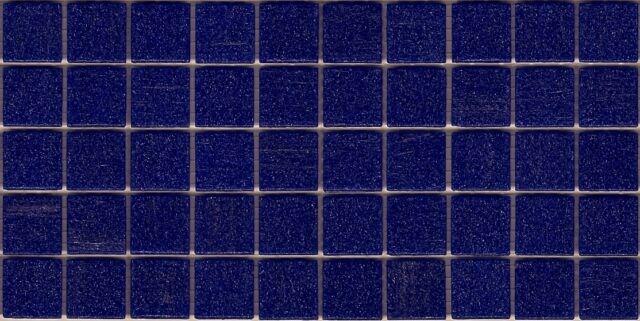 50pcs VTC46 Cobalt Blue Bisazza Vetricolor Glass Mosaic Tiles 2cm x 2cm