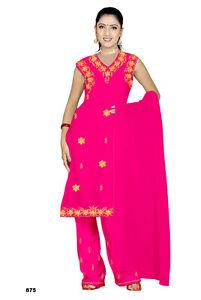 Salwar Kameez Set Carnaval Sari Boho Inde Bollywood Rose En 4 Tailles-afficher Le Titre D'origine Les Consommateurs D'Abord