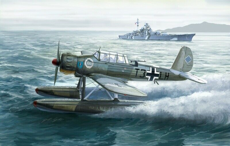 Italeri 1 48 WWII German Arado AR 196 A-3