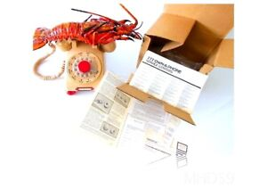 Telephone-Rotary-ORIGINAL-PAPERS-BOX-SPINY-LOBSTER-VERY-VERY-RARE
