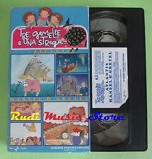 film VHS cartonata TRE GEMELLE E UNA STREGA VOL. 1 Atlantis Hansel (F67) no dvd
