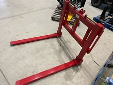 New Wifo Forklift Forks Category 12 3pt Hitch Adjustable 2500lbs