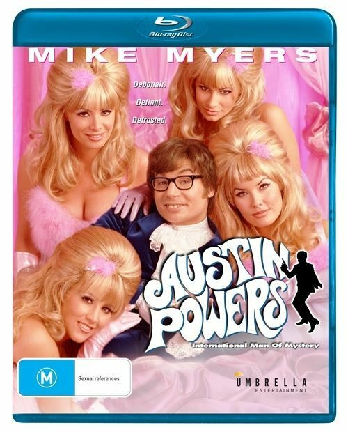 Austin Powers - International Man Of Mystery (Blu-ray, 2014)
