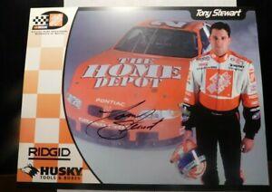 TONY-STEWART-NASCAR-AUTOGRAPH-PROMO-PHOTOGRAPH-FF362DSH2