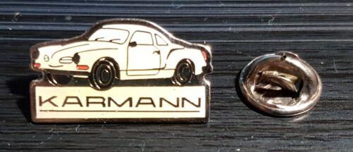 Karmann Ghia Pin White Dimensions 0 31//32x0 19//32in
