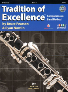 Clarinet Book 2 KJOS W62CL Tradition of Excellence