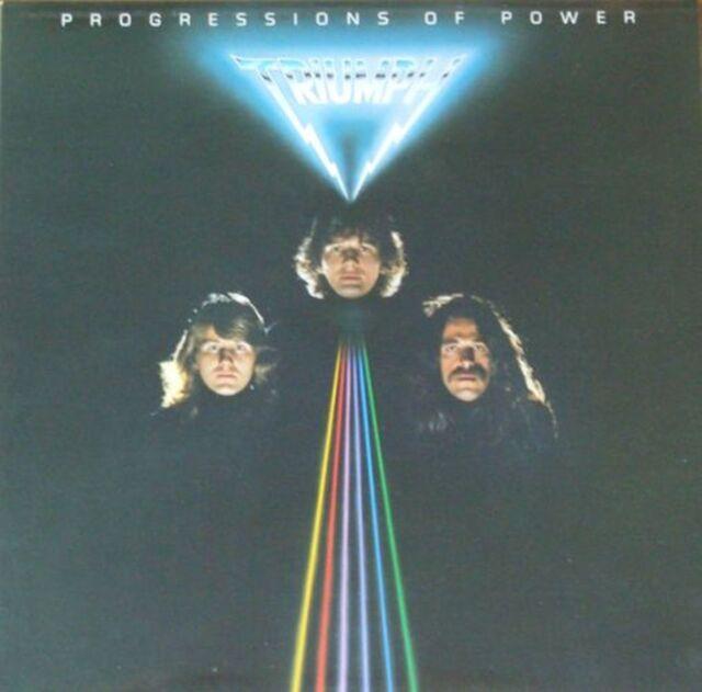Triumph - Progressions Of Power (Attic-Records Vinyl-LP OIS Germany 1980)