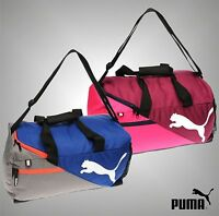 Mens Genuine Puma Gym Sports Fundamentals Holdall Training Bag