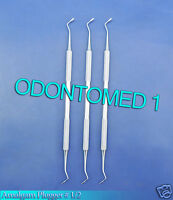3 Amalgam Plugger Black 1/2 Dental Surgical Instruments
