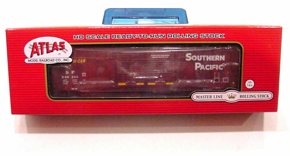RARE SOLD OUT HO ATLAS SP FMC 5503 52' SOUTHERN PACIFIC DD BOX CAR 246243