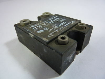 CRYDOM H12WD4850 SOLID STATE RELAY WITH HEAT SINK 50AMP