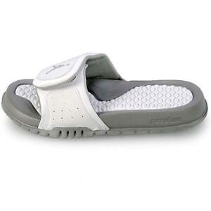new styles 5ba67 32cef Details about Nike Big Kids Jordan Hydro 2 (GS) NEW AUTHENTIC  White/Metallic Silver 313194-115