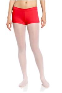 CAPEZIO-Womens-Low-Rise-Boyshorts-TB113-Size-S-Red