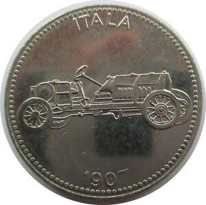 Medaille Shell Weltberühmte Sportwagen Itala 1907 Ebay