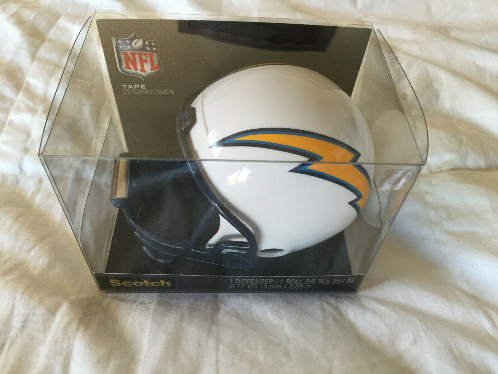 Washington Redskins Football Helmet with 1 Roll of 3//4 x 350 Inches Tape Scotch Magic Tape Dispenser