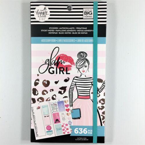 El planificador Glam Accesorio Niña Feliz Pegatina Sticky Nota Libro Paquete de 636