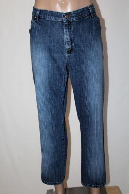 LEE RIDERS Women's Size 20W P Petite Straight Leg Denim Jeans 27