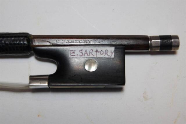 ANTIQUE  OLD  VIOLIN  BOW  4/4  EUGENE  SARTORY