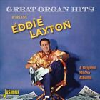 Great Organ Hits from: Four Classic Albums by Eddie Layton (CD, May-2013, 2 Discs, Jasmine)