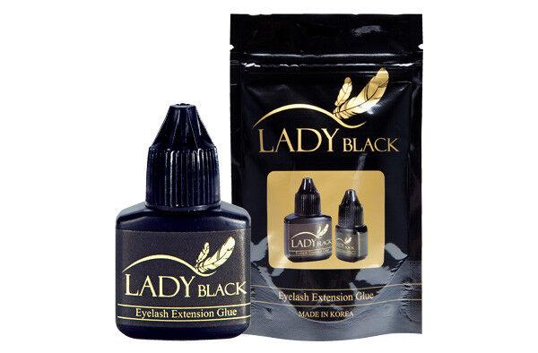 LADY BLACK Glue 10ml Korean Eyelash Extension Strong Adhesive