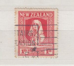 New-Zealand-1929-1d-Red-Nurse-Health-SG544-VFU-J5176