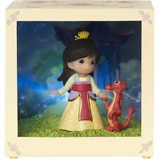 Precious Moments Disney Showcase Mulan Resin/Vinyl LED Shadow Box #164113