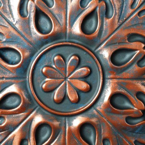 Metallic Ceiling tiles Faux tin rust copper decor wall panel PL18 10pcs//lot