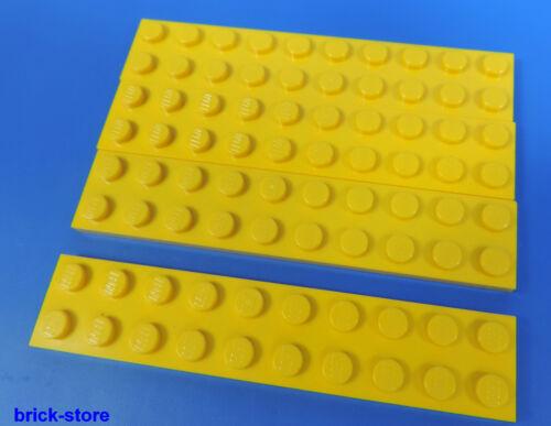 LEGO ® nr-383224//2x10 plaque jaune//4 pièces