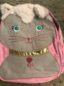 Pottery Barn Kids Mackenzie Small Backpack Critter Kitty