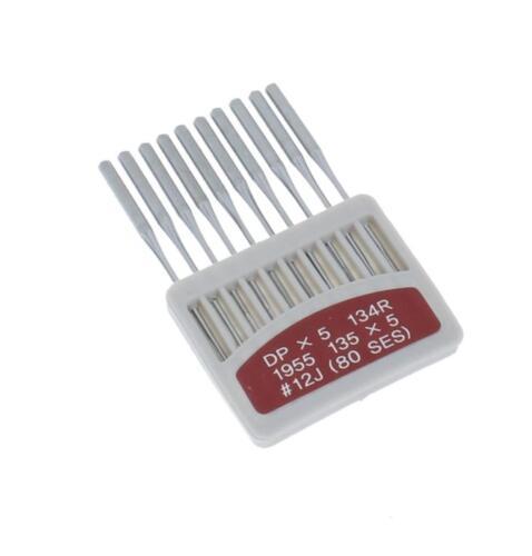 Nähmaschinennadeln Rundkolben Nadeln für Nähmaschinen Maschinen 134 DPx5 /& 134LR