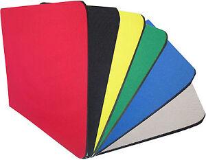 Fabric-Mouse-Mat-Pad-High-Quality-5mm-Thick-Non-Slip-Foam-25cm-x-22cm-ze345