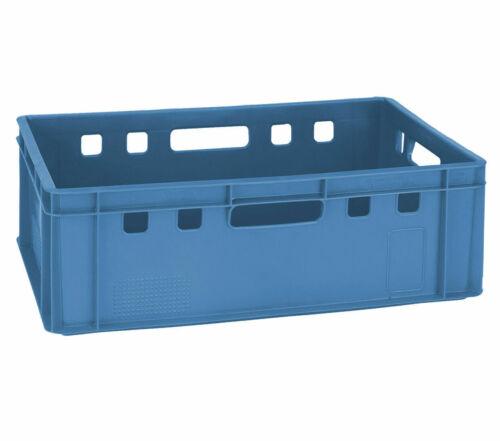 Fleischerkiste Fleischereikiste Eurokiste Metzgerkiste E2 Farbe Blau Gastlando