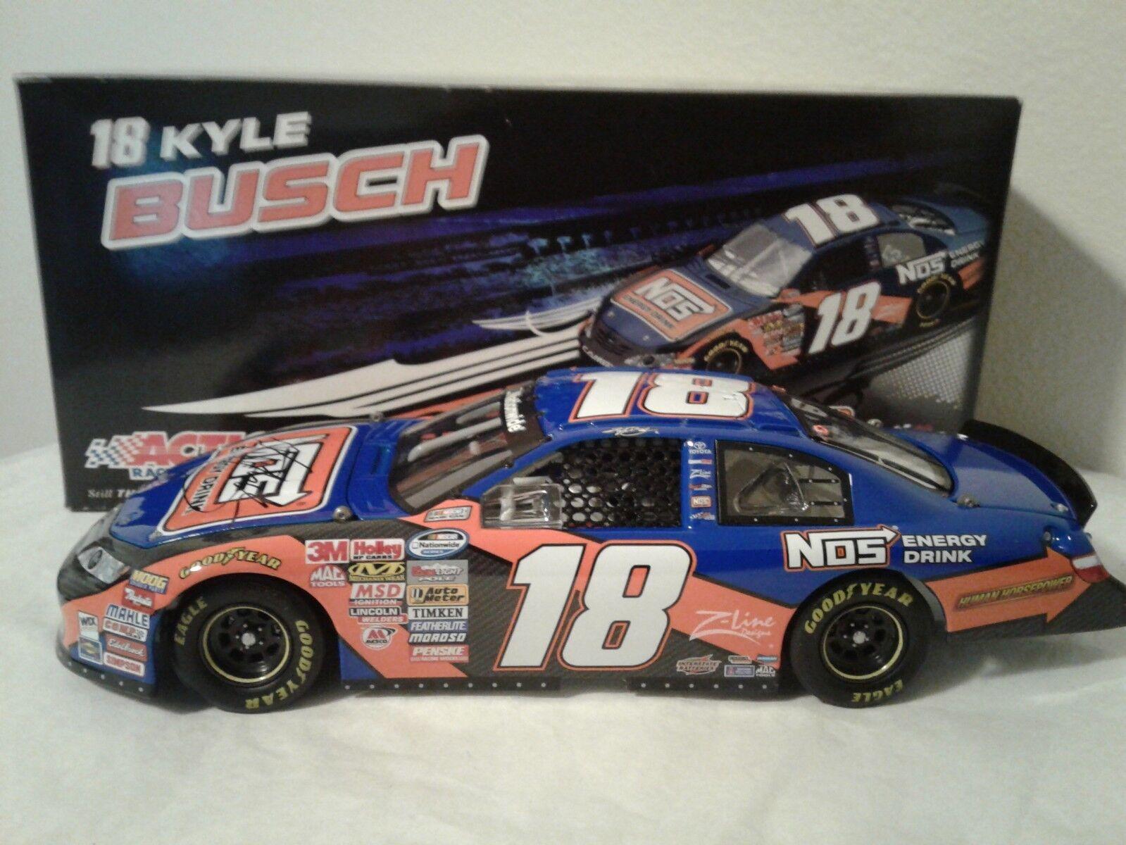 Kyle Busch Autograph 2009  18 NOS  Energy Drink  Camry 1 24 Joe Gibbs Racing