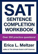SAT Sentence Completion Workbook