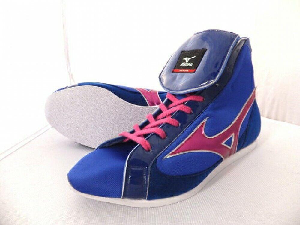 Boxing shoes EF Short type Original bluee x  metal pink 36KQ10000 Mizuno JAPAN  wholesale prices
