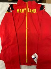 07cdb35934b8ce item 3 Twin Vision Active Wear Activewear Maryland Terrapins Yoga Track  Jacket Red XL -Twin Vision Active Wear Activewear Maryland Terrapins Yoga  Track ...