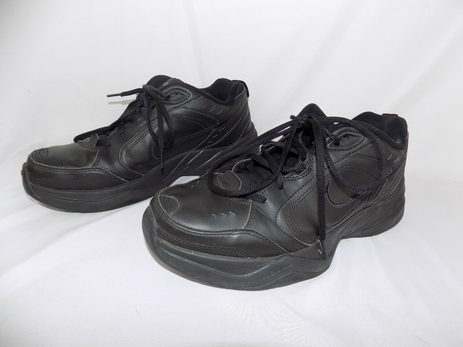 2018 Nike Air zapatos Monarch IV negro zapatos Air atléticos hombres casual zapatos comodos salvaje fe33d1