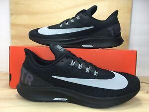 d4790ebf36bb NIKE AIR ZOOM PEGASUS 35 ID Black Gray Men Running Shoe Size 9.5 ...