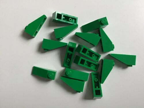 SLOPE 33 DEGREE 1x3 DARK GREEN  QTY x 16 BRAND NEW PARTS LEGO 4286 ROOF TILE
